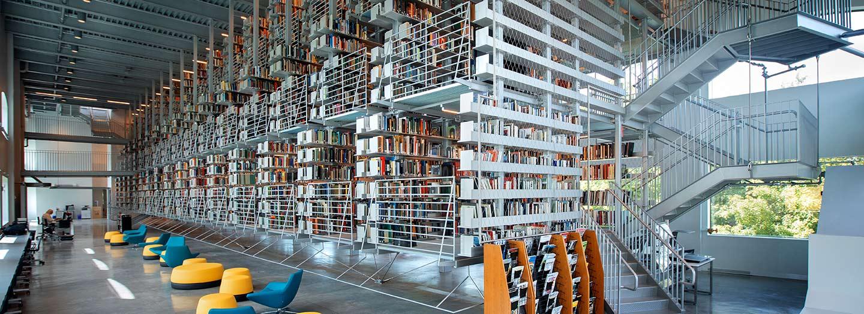 Mui Ho Fine Arts Library.
