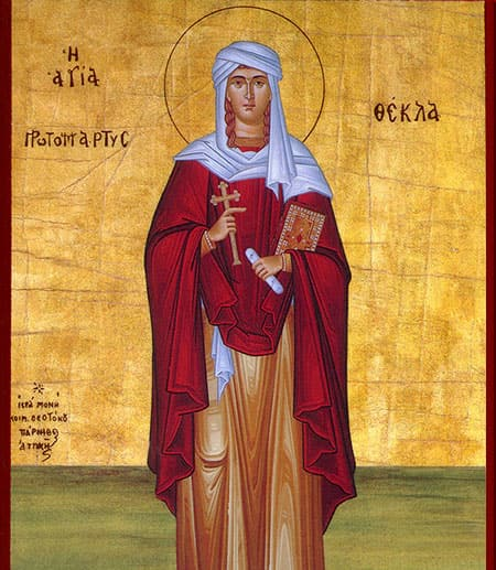 Painting of Saint Thecla